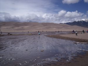 Great Sand Dunes National Park-Medano Creek